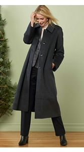 Cashmere-blend Coat And Trousers
