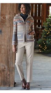 Cabin Cardigan And Chinos