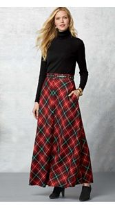 Fireside Skirt And Turtleneck