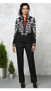 Flora Cardigan And Trousers