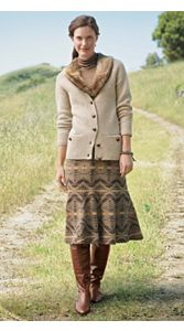 Fireside Cardi And Consuela Skirt