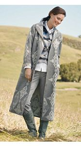 Reversible Ranch Wrap Coat
