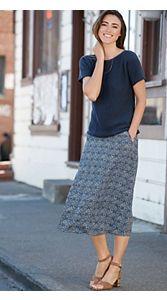 Felicity Batik Print Skirt