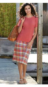 Alice Plaid Skirt