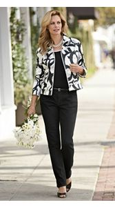 Kate Jacket And Slim Jeans