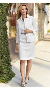 Pique Gloria Zip Jacket And Dress