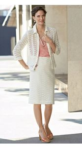 Lindsay Lace Jacket And Skirt