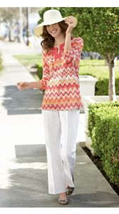 Cayman Crochet Tunic