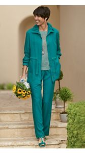 Sedona Silk Jacket And Pants