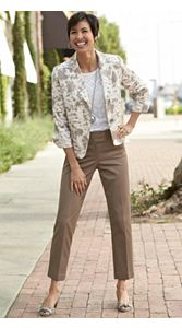 Claudia Jacket And Ankle Pants