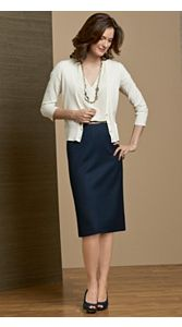 Seasonless Wool Madison Skirt