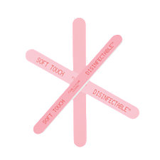 A product thumbnail of Rudolph Light/Dark Pink Nail File