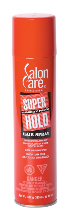 Salon Care Super Hold Hair Spray
