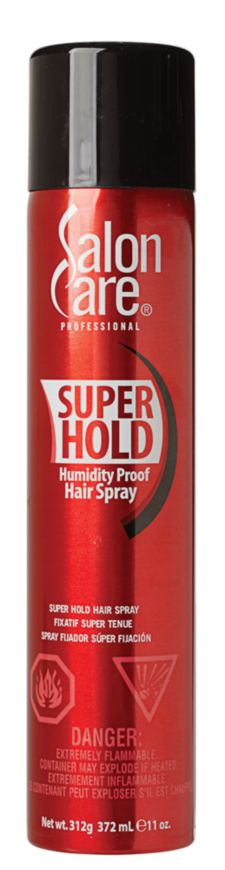 Salon Care Super Hold Hair Spray LVOC