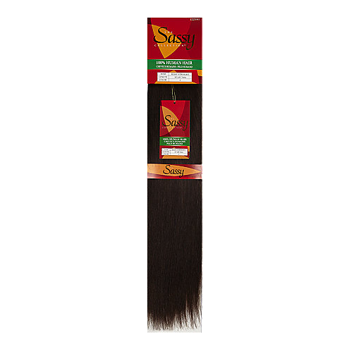 Sassy Silky Straight 18 Inch Human Hair Extensions