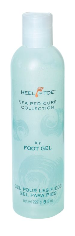 Heel to Toe Spa Collection Icy Foot Gel