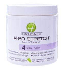 4 Naturals Afro Stretch Curl Cream