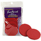 A product thumbnail of Face Secrets Professional Red Makeup Sponges