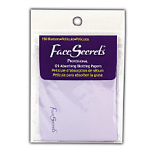 A product thumbnail of Face Secrets Professional Oil Absorbing Blotting Papers