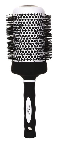 Brush Strokes Ceramic Thermal Round Brush
