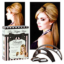 Big Happie Hair - Bumpits Hair Volumizing Inserts Light Blonde :  big happie hair bump it bumpit bumpits