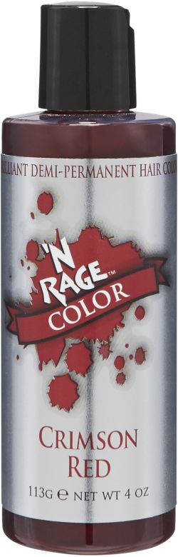 N Rage Demi Crimson Red
