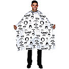 A product thumbnail of Betty Dain Mustache Print White Styling Cape
