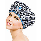 A product thumbnail of Betty Dain Fashionista Sassy Stripes Shower Cap
