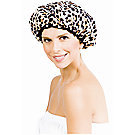 A product thumbnail of Betty Dain Socialite Safari Spots Shower Cap