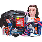 A product thumbnail of Soft Side Complete Beauty School Kit With Hairdryer
