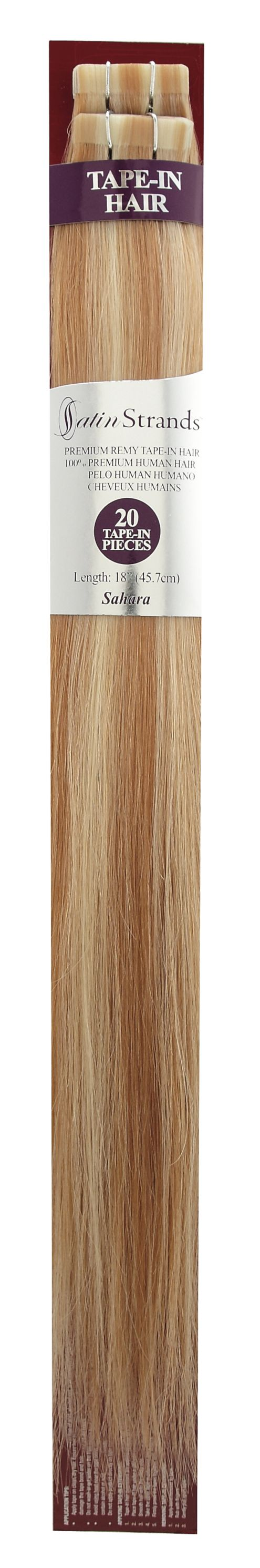 Satin Strand Hair Extensions 18