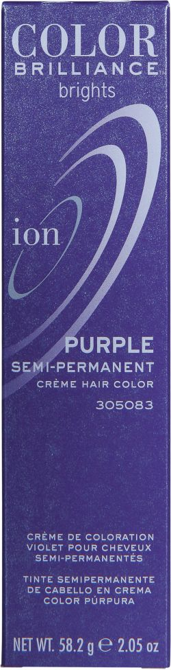 Ion Color Brilliance Brights Semi-Permanent Hair Color Purple