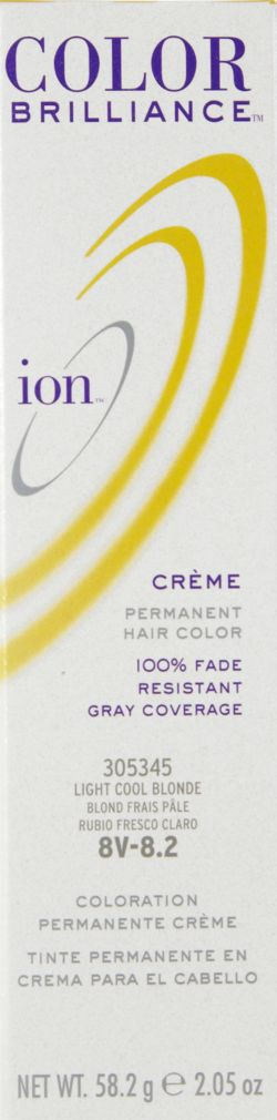 Color Brilliance Permanent Creme Hair Color 8V