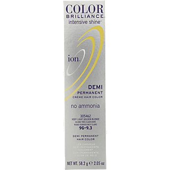 Ion Color Brilliance Intensive Shine Demi Permanent Creme 9g Very Light Golden Blonde