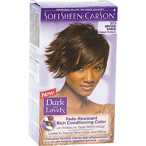Dark And Lovely Permanent Hair Color Kit
