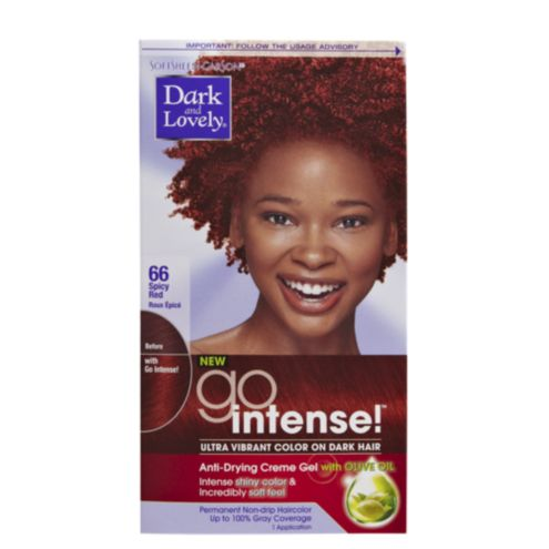 dark and lovely go intense permanent hair color