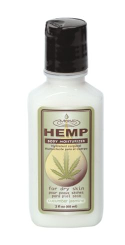 Moist Hemp Jasmine and Cucumber Body Moisturizer 2 oz.