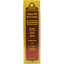A product thumbnail of One 'N Only Argan Oil Hair Color 1N Very Black