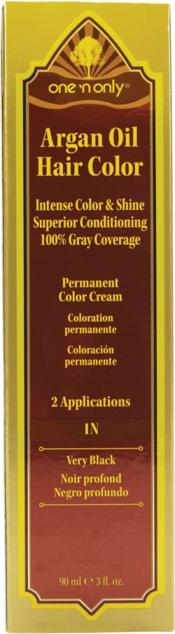One 'N Only Argan Oil Hair Color 1N Very Black