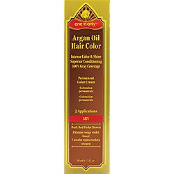 Sally Beauty  One 39N Only Argan Oil Hair Color 3RV Dark Red Violet Brown