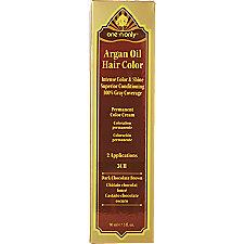 Argan Oil Hair Color Ch Light Chocolate Brown