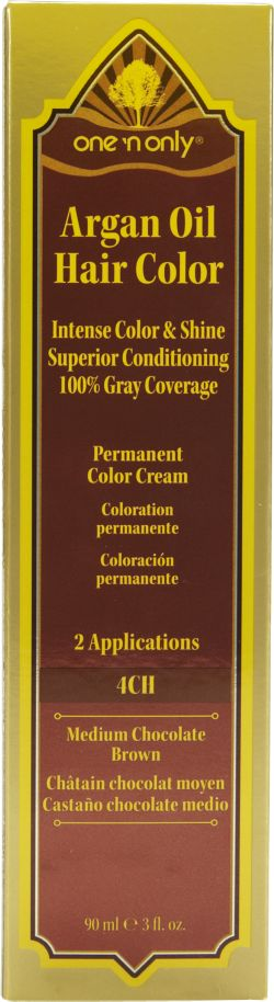 One 'N Only Argan Oil Hair Color 4CH Medium Chocolate Brown