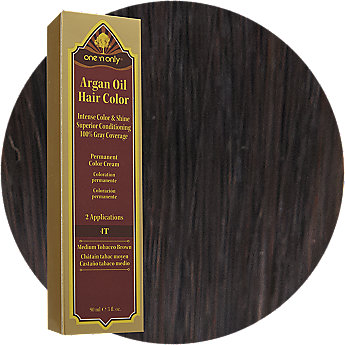 One N Only Argan Oil Hair Color Review Medium Red Brown 2015  Personal Blog