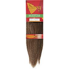 Sassy 10 Inch Light Brown/Light Aubrun Silky Straight ...