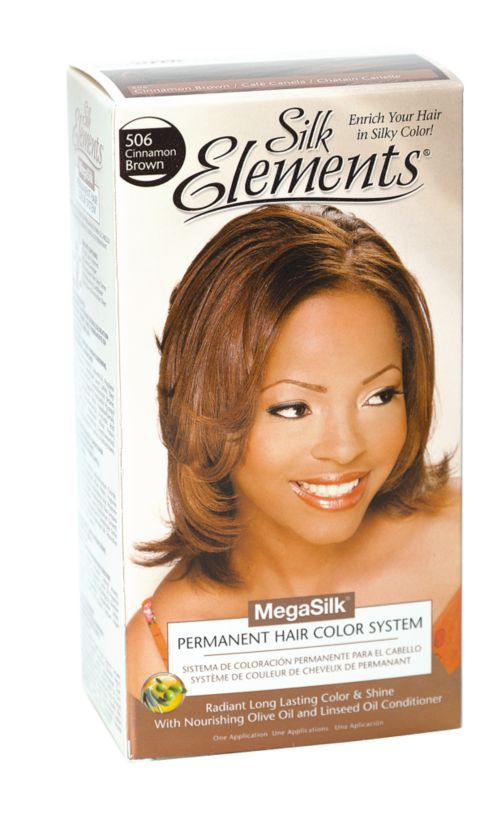 Silk Elements MegaSilk Hair Color System Cinnamon Brown