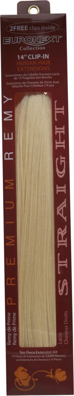 Remy Clip-In 14-inch Human Hair Extension