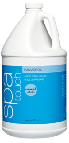 Spa Touch Unscented Massage Oil