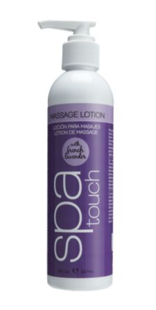 Spa Touch French Lavender Massage Lotion 8 oz.