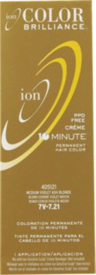 7v hair color hair majirel loreal ion color brilliance permanent creme 10 minute hair 7v medium violet ash blonde eible
