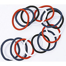 A product thumbnail of DCNL Thick Hair Elastics Assorted Colors